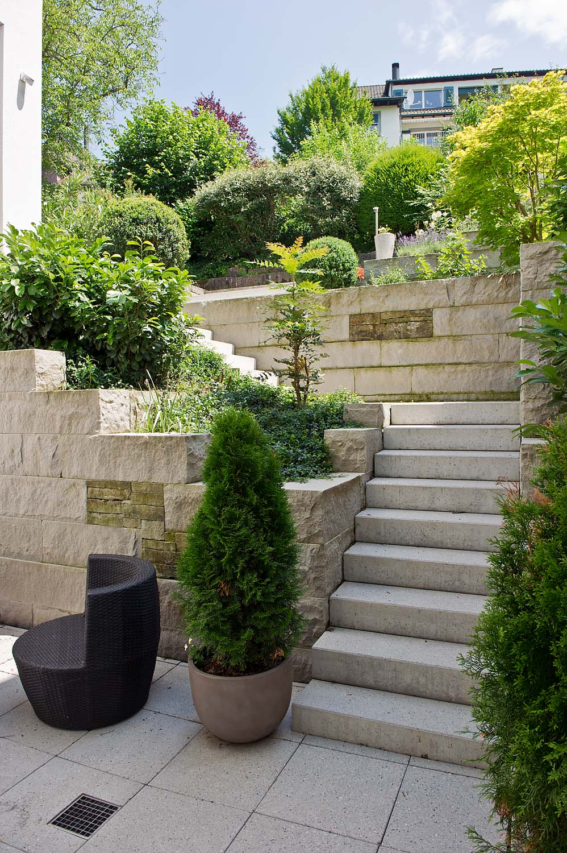 Kleiner Garten Idee Gartengestaltung 0271   Arnold Gartenbau